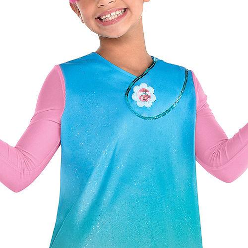Child Queen Poppy Costume - Trolls World Tour Image #2