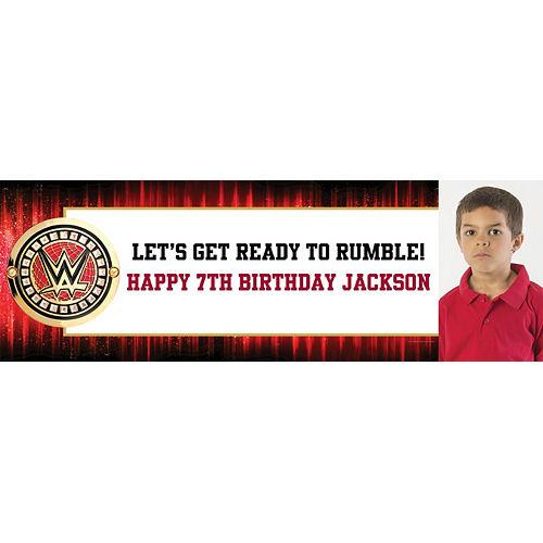 Custom WWE Photo Horizontal Banner Image #1