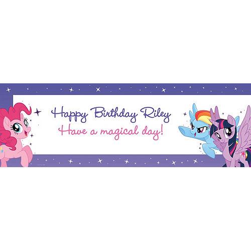 Custom My Little Pony Horizontal Banner Image #1