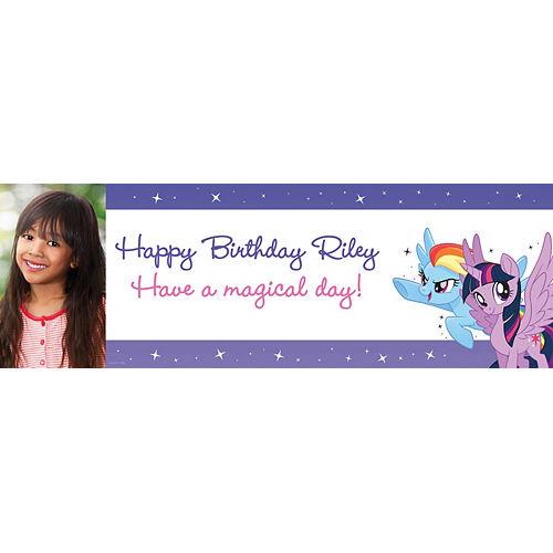 Custom My Little Pony Photo Horizontal Banner Image #1