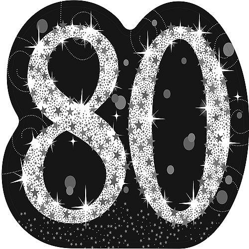 Sparkling Celebration 80 Life-Size Cardboard Cutout, 5ft Image #1