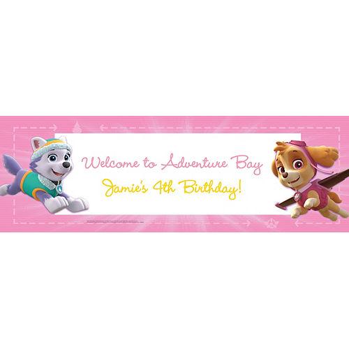 Custom Pink PAW Patrol Banner Image #1