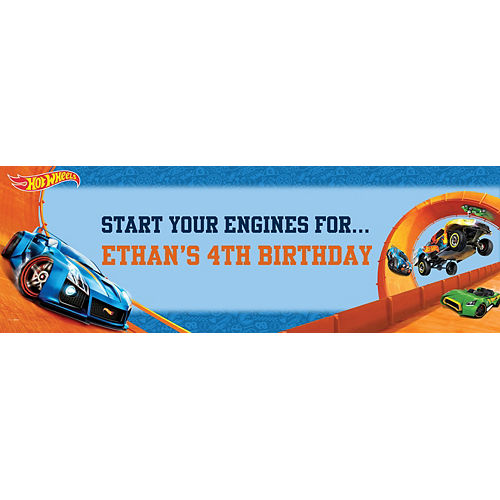 Custom Hot Wheels Wild Racer Horizontal Banner Image #1