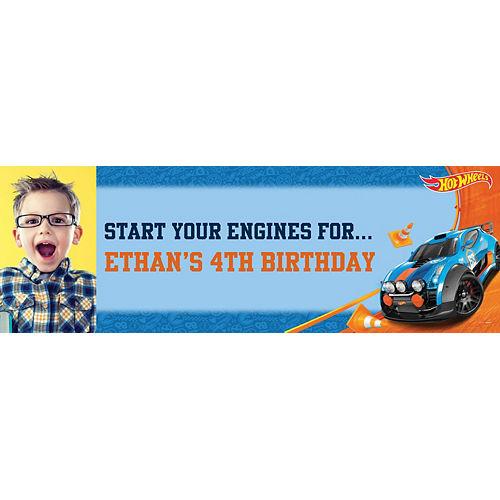Custom Hot Wheels Wild Racer Photo Horizontal Banner Image #1