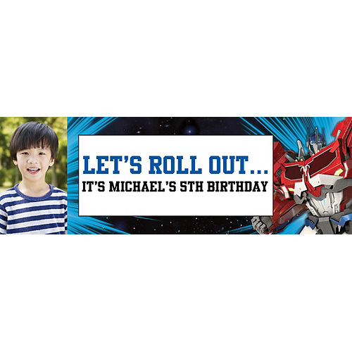 Custom Transformers Photo Horizontal Banner Image #1