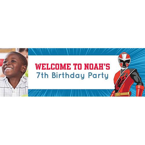 Custom Power Rangers Ninja Steel Photo Horizontal Banner Image #1