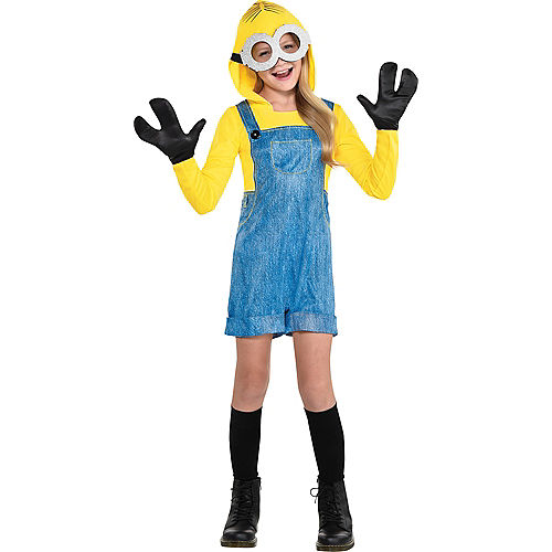 Nav Item for Girls Minion Costume - Minions 2 Image #1