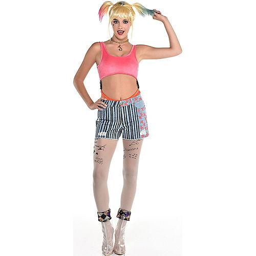 Adult Harley Quinn Costume - Birds of Prey Image #1