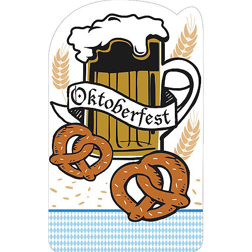 Oktoberfest Life-Size Cardboard Cutout, 6ft Image #1