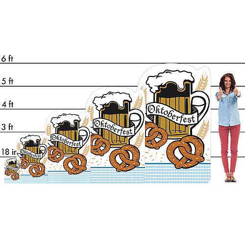 Oktoberfest Life-Size Cardboard Cutout, 6ft Image #2