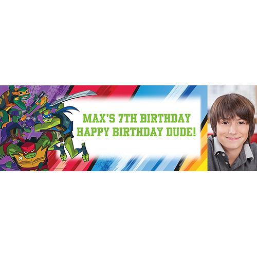 Custom Teenage Mutant Ninja Turtles Photo Horizontal Banner Image #1