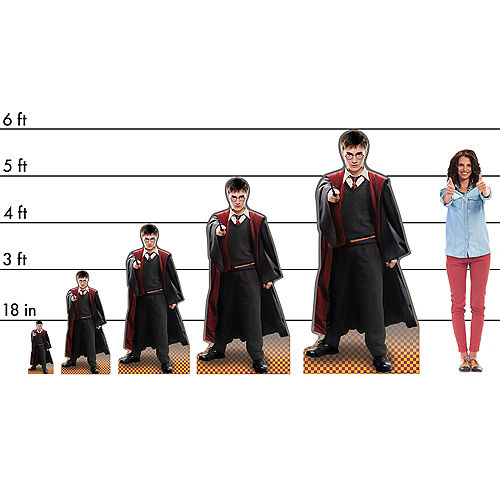 Harry Potter Cardboard Cutout, 3ft Image #2