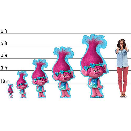 Poppy Cardboard Cutout, 3ft - Trolls Image #2