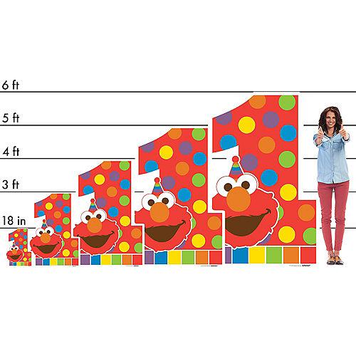 Elmo 1st Birthday Life-Size Cardboard Cutout, 6ft Image #2