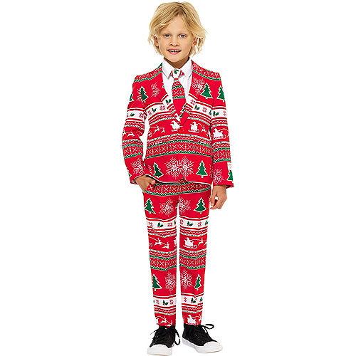 Child Winter Wonderland Christmas Suit Image #1