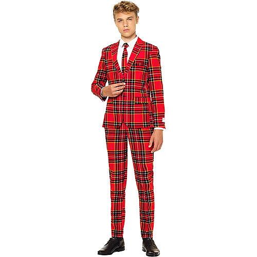 Teen Lumberjack Tartan Suit Image #1