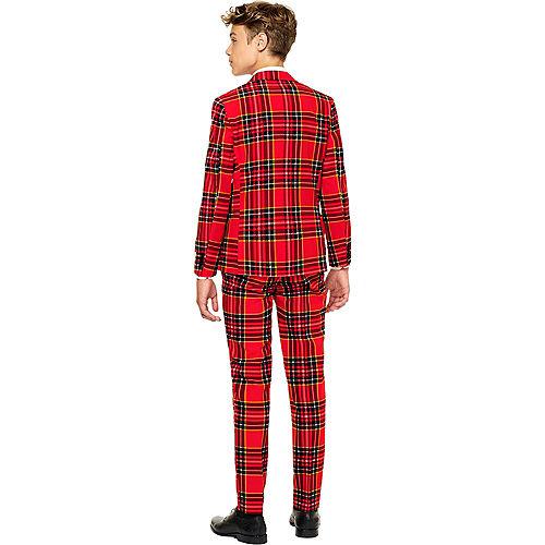Teen Lumberjack Tartan Suit Image #2