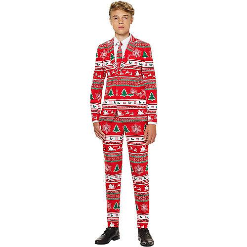 Teen Winter Wonderland Christmas Suit Image #1
