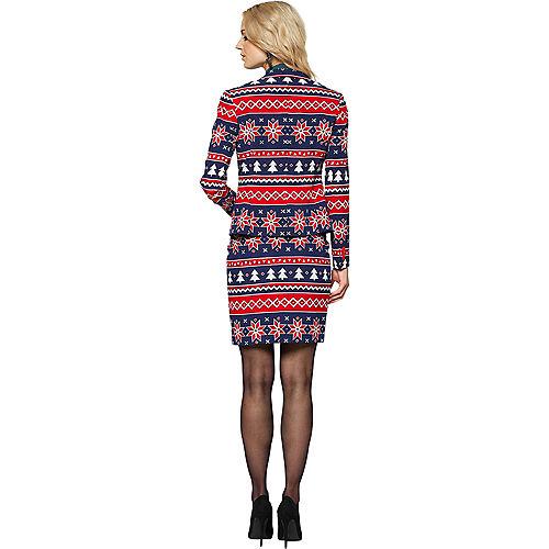 Adult Nordic Noelle Christmas Skirt Suit Image #2
