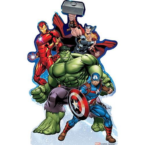 Epic Avengers Centerpiece Cardboard Cutout, 18in Image #1