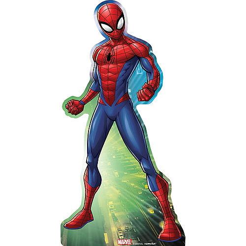Webbed Wonder Spider-Man Life-Size Cardboard Cutout, 6ft Image #1