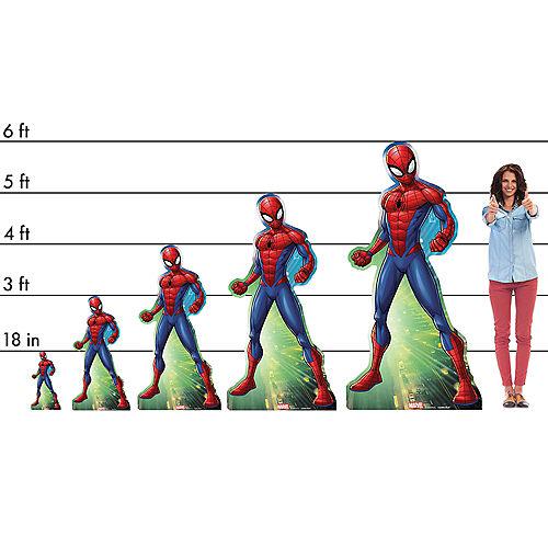Webbed Wonder Spider-Man Life-Size Cardboard Cutout, 6ft Image #2