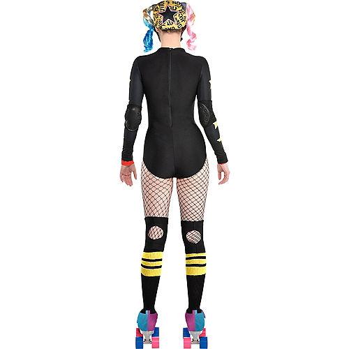 Adult Roller Derby Harley Quinn Costume - Birds of Prey Image #2