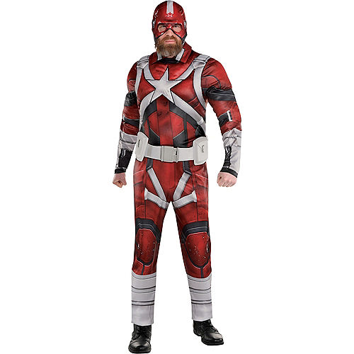 Adult Red Guardian Costume - Black Widow Image #1
