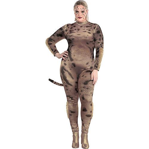 Adult Cheetah Costume Plus Size - Wonder Woman 1984 Image #1