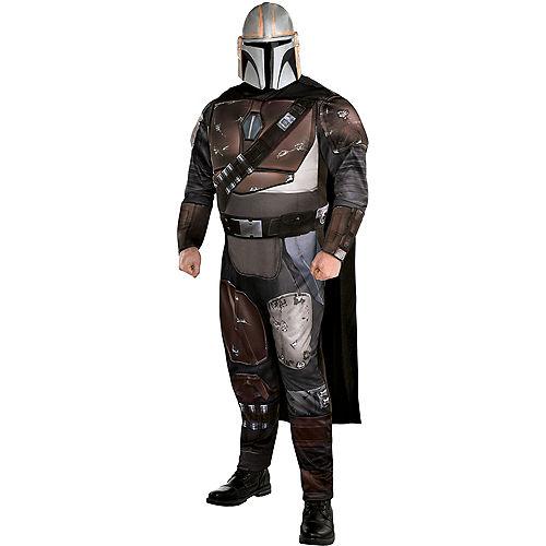 Adult Mandalorian Costume Plus Size - Star Wars: The Mandalorian Image #1