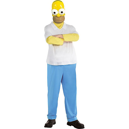 Adult Homer Costume - The Simpsons Image #1