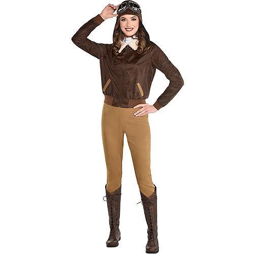 Adult Amelia Earhart Costume Image #1
