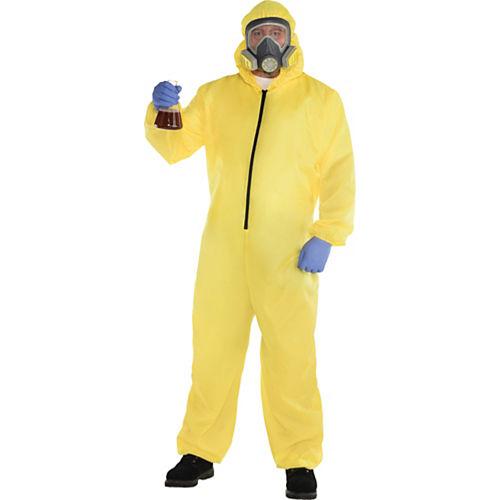 Adult Hazmat Suit Costume Plus Size Image #1