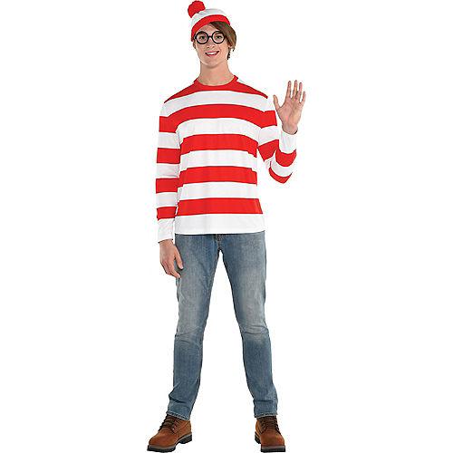 Adult Where's Waldo Costume - DreamWorks Image #1