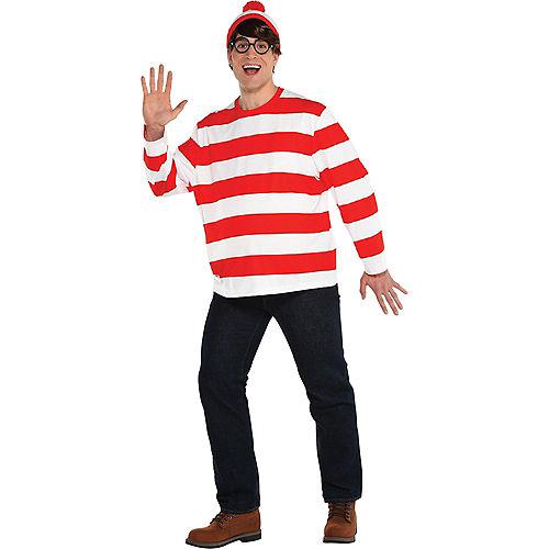 Adult Where's Waldo Costume Plus Size- DreamWorks Image #1