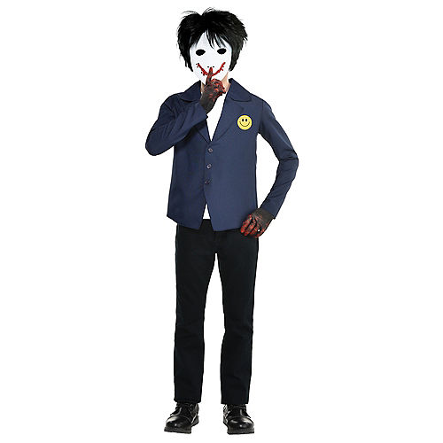 Child Creepy Painter Boy Costume Image #1