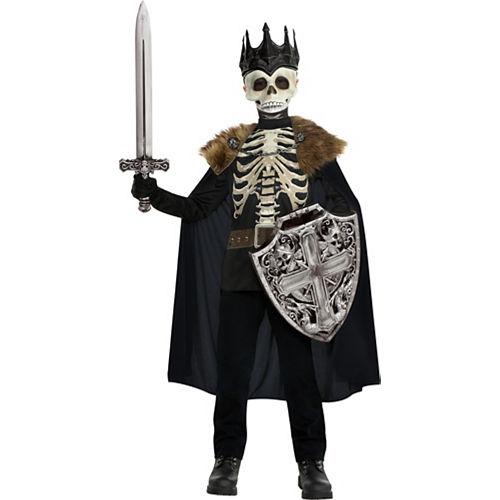 Child Dark King Skeleton Costume Image #1