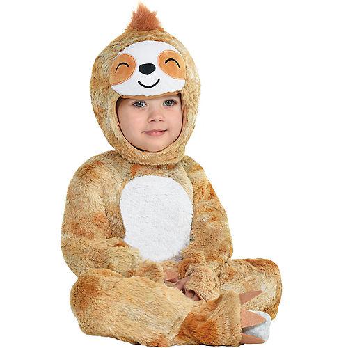 Baby Soft Cuddly Sloth Costume Image #1