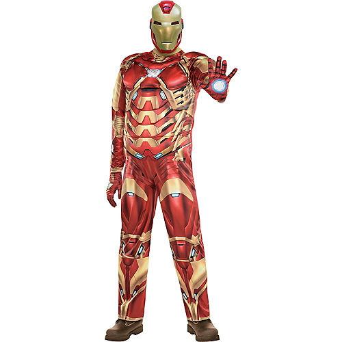 Adult Iron Man Costume Plus Size - Marvel's Avengers Game Image #1