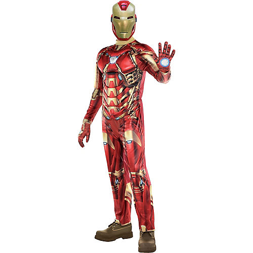 Adult Iron Man Costume - Marvel's Avengers Game Image #1