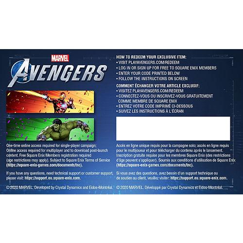 Adult Iron Man Costume - Marvel's Avengers Game Image #2