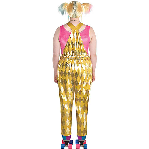 Adult Booby Trap Harley Quinn Costume Plus Size - Birds of Prey Image #2
