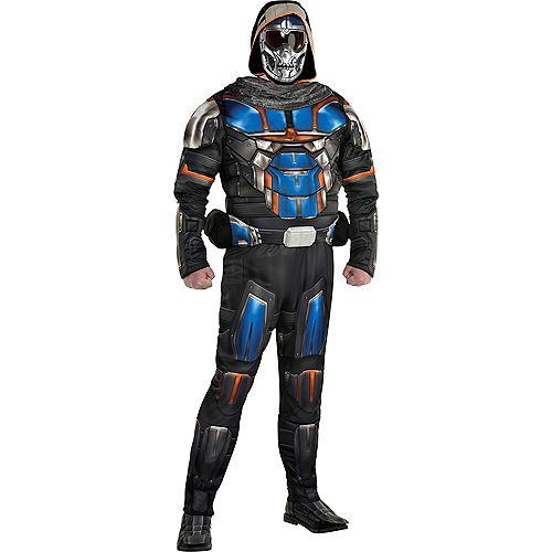 Adult Marvel Task Master Costume Plus Size - Black Widow Image #1
