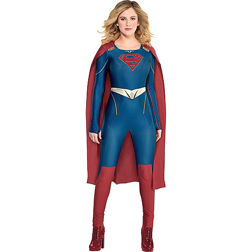 Adult Supergirl Costume Image #1