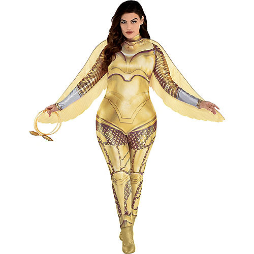 Adult Gold Armor Wonder Woman Costume Plus Size - WW 1984 Image #1