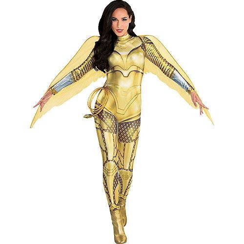 Adult Gold Armor Wonder Woman Costume - WW 1984 Image #1