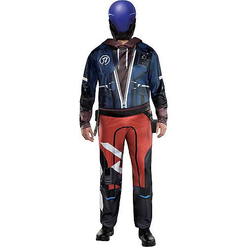 Adult Ace Costume Plus Size - Hyper Scape Image #1