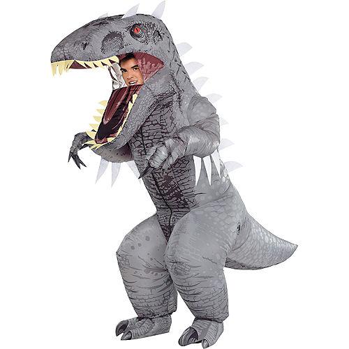 Adult Inflatable Indominus Rex Costume - Jurassic World Image #1