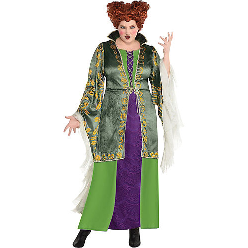 Adult Winifred Sanderson Costume Plus Size - Disney Hocus Pocus Image #1