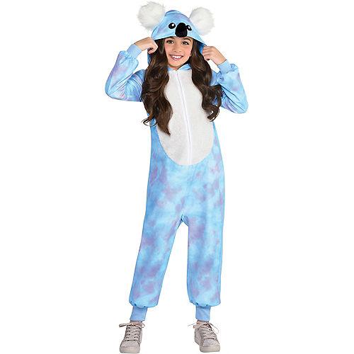 Child Zipster Blue Koala One-Piece Costume Image #1